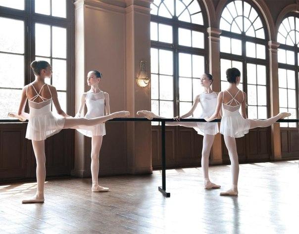 занятия балетом в балетной школе Грации