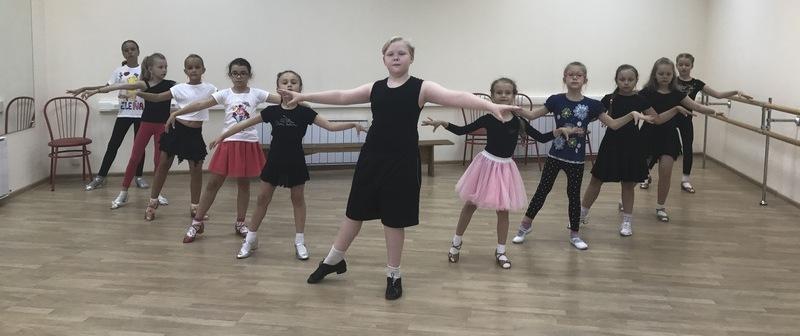 урок классических танцев в Школе Грации