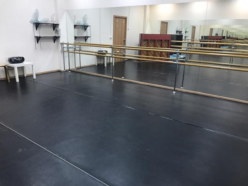 Аренда зала для хореографии и балета